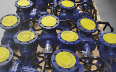New PN16 valves stock shipment for our distributor in Italy