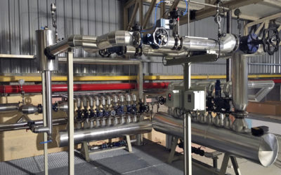 PN16 bellows sealed valves for steam service to be installed in a meat processing factory